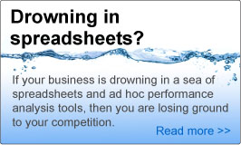 Drowning in spreadsheets?
